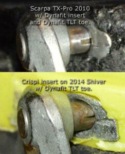 Crispi Scarpa Tech Inserts Telemark Boots TX Pro Evo
