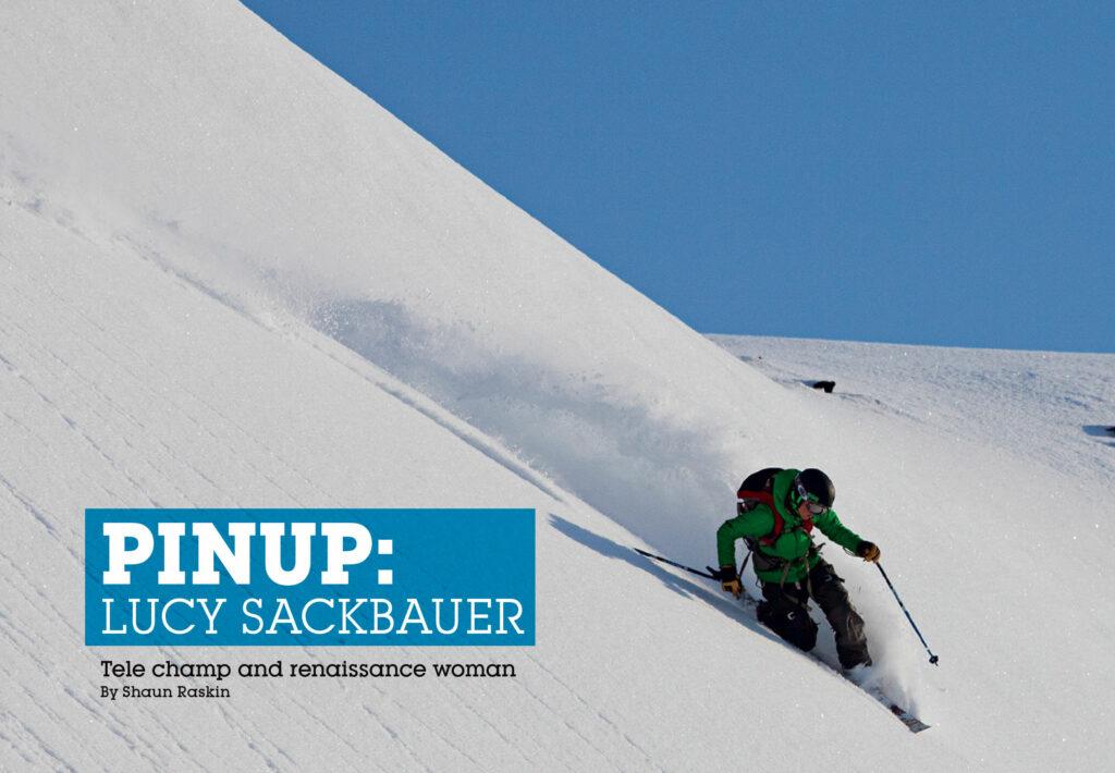 Lucy Sackbauer Telemark Skier