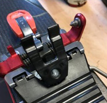 Stronger springs and a new toe tab improve the ski brake function.